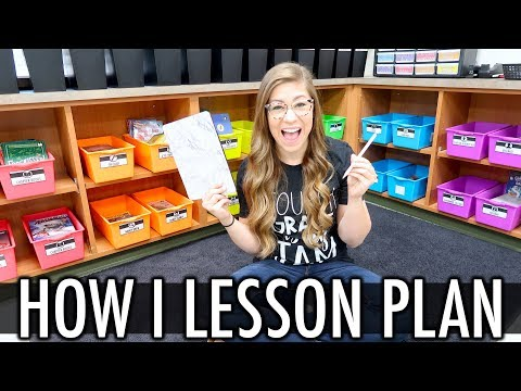 How I Lesson Plan As a Teacher | Pocketful of Primary