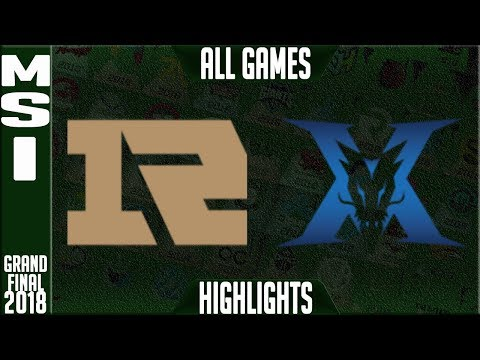 RNG vs KZ Highlights ALL GAMES Grand Final | MSI 2018 Final Royal Never Give Up vs King Zone DragonX