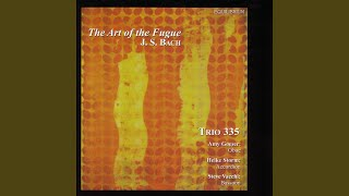 The Art of the Fugue: Contrapunctus 6 a 4 in Stylo Francese