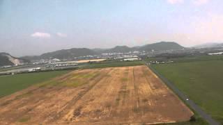 空撮in笠岡 F-16 50mmダクト追撃!
