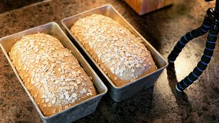 Michigan Maple and Honey Oatmeal Bread ~ The Kneady Homesteader