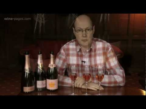 Three Rosé Champagnes and Sparkling Wines for St Valentine's, wine review