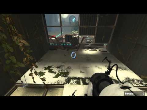 Portal 2 Challenge Runs - Cube Momentum - 14.71s