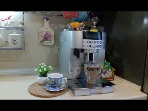 Как почистить кофемашину delonghi от накипи видео