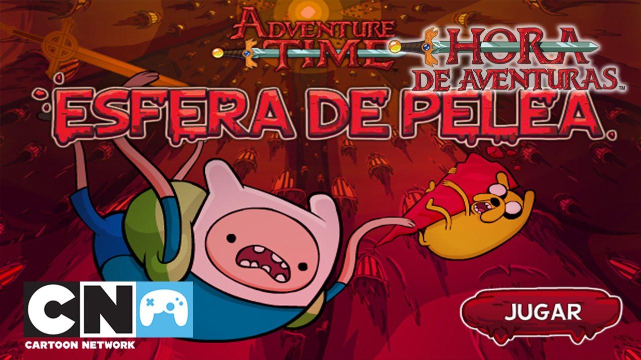 Gameplay De Esfera De Pelea Juegos De Hora De Aventuras