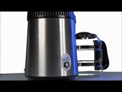H20 Water Distiller - Water Purification Distillation System THE BEST! 99.9% Purest Water.