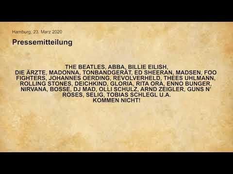 Die Erste Singende Pressemeldung: #KEINERKOMMT - ALLE MACHEN MIT