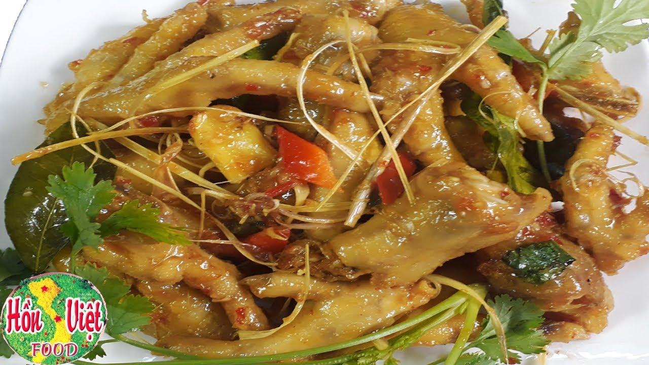 ✅ Làm Chân Gà Xào Sả Ớt Giòn Ngon Sần Sật | Hồn Việt Food