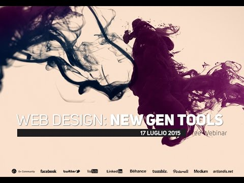 Web Design: New Generation Tools (free webinar)