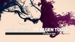 Web Design: New Generation Tools (free webinar)
