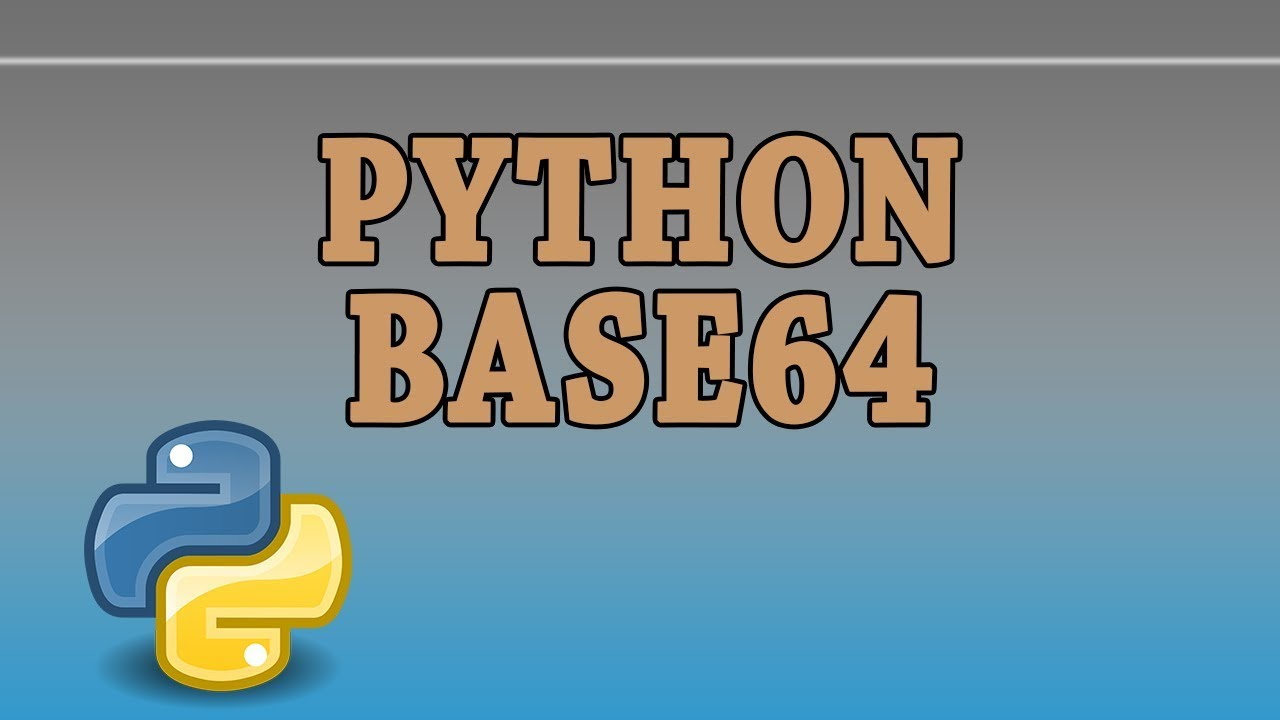 Python: Encoding and Decoding base64