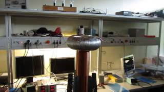 Tesla Coil with Music Modulation