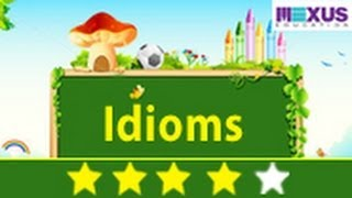 English Grammar: Learn about Idioms