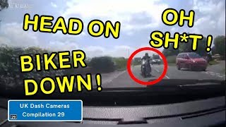 UK Dash Cameras - Compilation 29 - Bad Drivers, Crashes + Close Calls