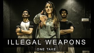 ILLEGAL WEAPON x MI GENTE One Take Tejas Dhoke Choreography Team DanceFit