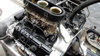 Porsche 911 engine Test run after overhaul