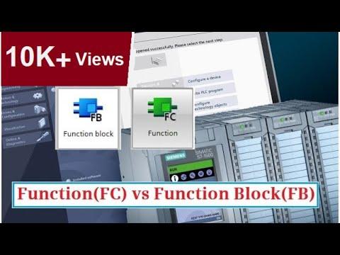 Function (FC) Vs Function Block (FB) - PLC Programming For Beginners    TIA PORTAL