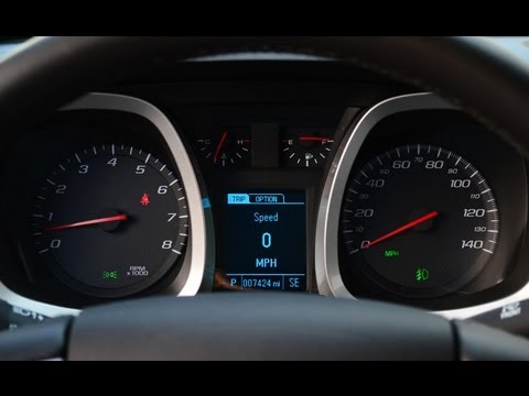 How to Reset the Oil Life on a Chevy Equinox