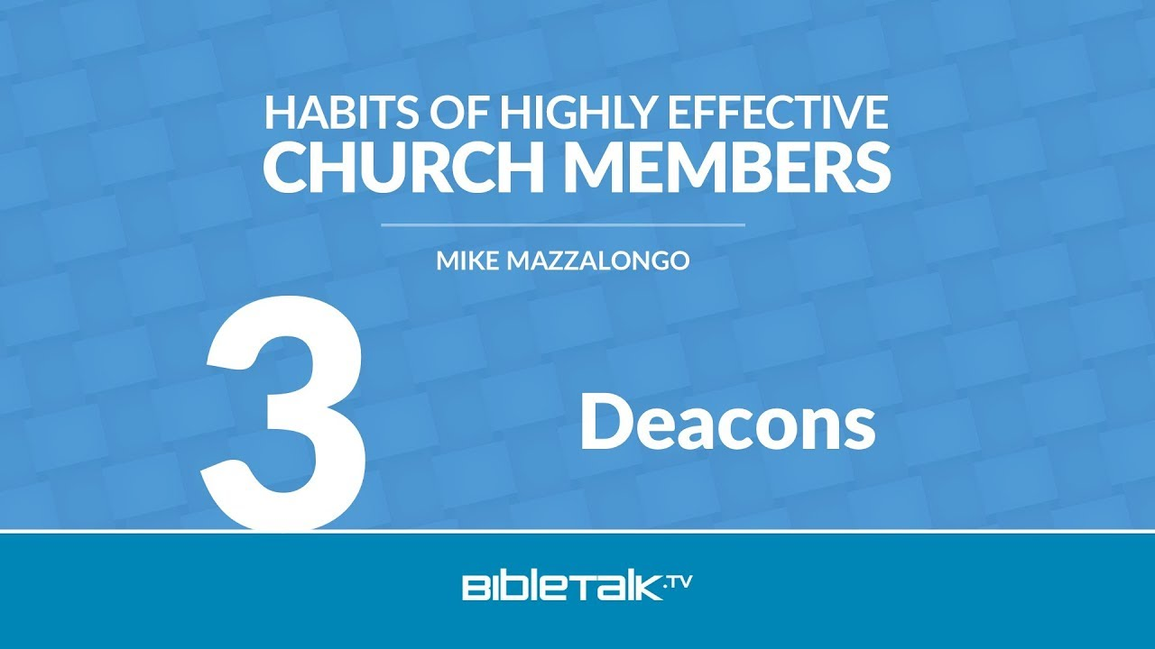 7 Habits of Highly Effective Deacons