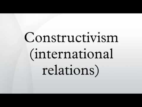Constructivism (international relations)