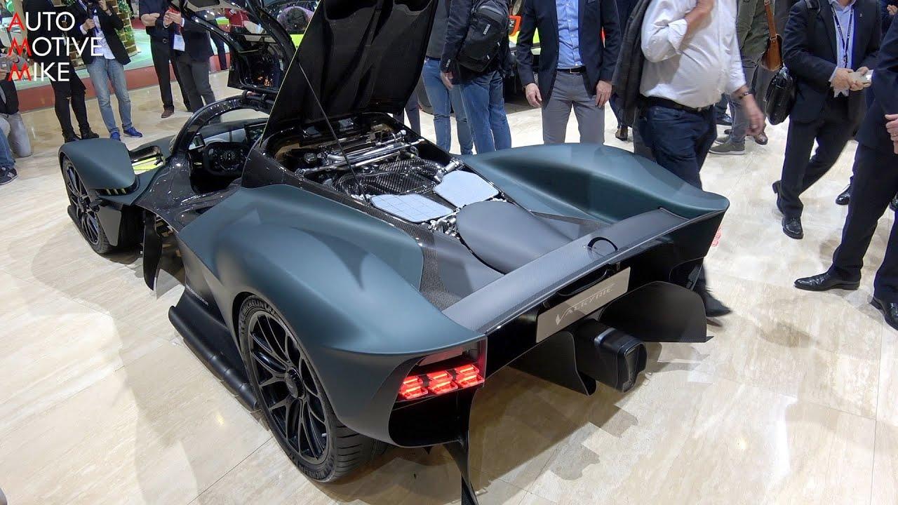 This Is The Aston Martin Valkyrie Geneva Motorshow 2019