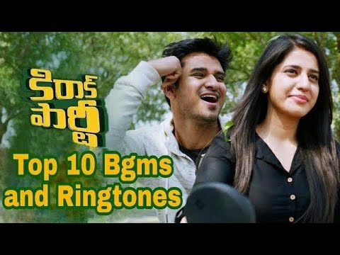 Top 10 Best Bgms And Ringtones In Kirrak Party Movie | Kirrak Party | V Creations |