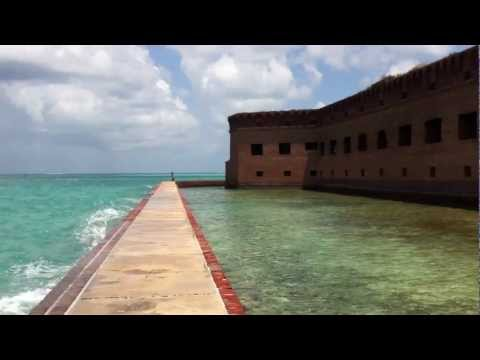 Fort Jefferson Panorama at Dry Tortugas National Park, Florida