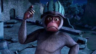 Маугли - Книга Джунглей – Королева обезьян🐒 – развивающий мультфильм для детей