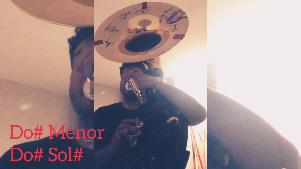 Como tocar (Me La Aventé) Con tuba Carin León Tono De Mi Mayor.