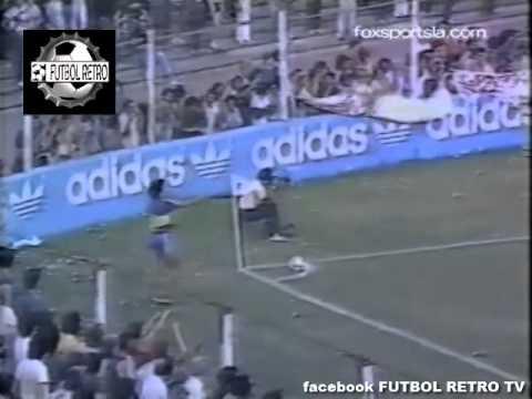 Altos Hornos Zapla 1 vs Boca 2 NACIONAL 1985 Brown, Graciani