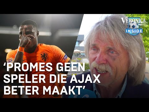 Johan geen vertrouwen in Ajax-aankoop Promes: 'Hij heeft het nergens laten zien' | VERONICA INSIDE