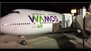 Video WAMOS AIR 747-400 Gate 2 Arrival at VC Bird Int'l Airport download MP3, 3GP, MP4, WEBM, AVI, FLV Juni 2018