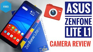 Asus zenfone lite L1 smartphone full camera review   best budget smartphone under rs 6000 [ Hindi ]
