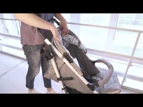 Espiro Energy - прогулочная коляска-трость с большим капюшоном (Эспиро Энерджи)