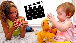 Видео для девочек - Света кинорежисер - игры для девочек
