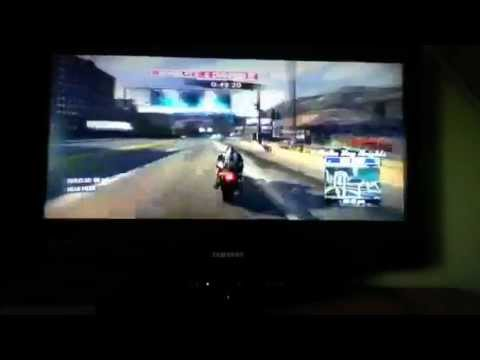 STRAIGHT WHEELIE ON BIKE IN BURNOUT PARADISE THE ULTIMATE B