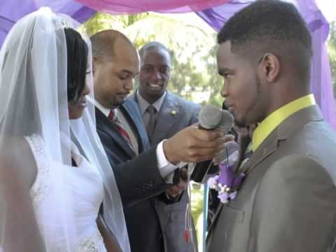 Lorenzo and Locksann wedding Tropics View Hotel Mandeville Jamaica