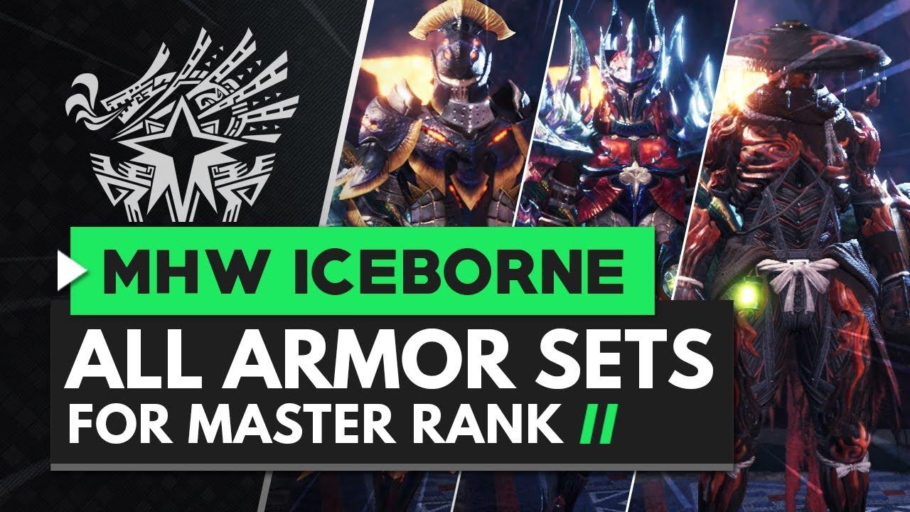 Mhw Iceborne All Female Master Rank Armors Youtube