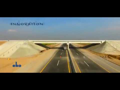 Motorway 4 (M-4): Multan Khanewal Section Aerial View | PAKISTAN 2016