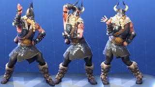 Fortnite Magnus Performs All Dances Season 1-5 [LEGENDARY SKIN OUTFIT COSTUME]