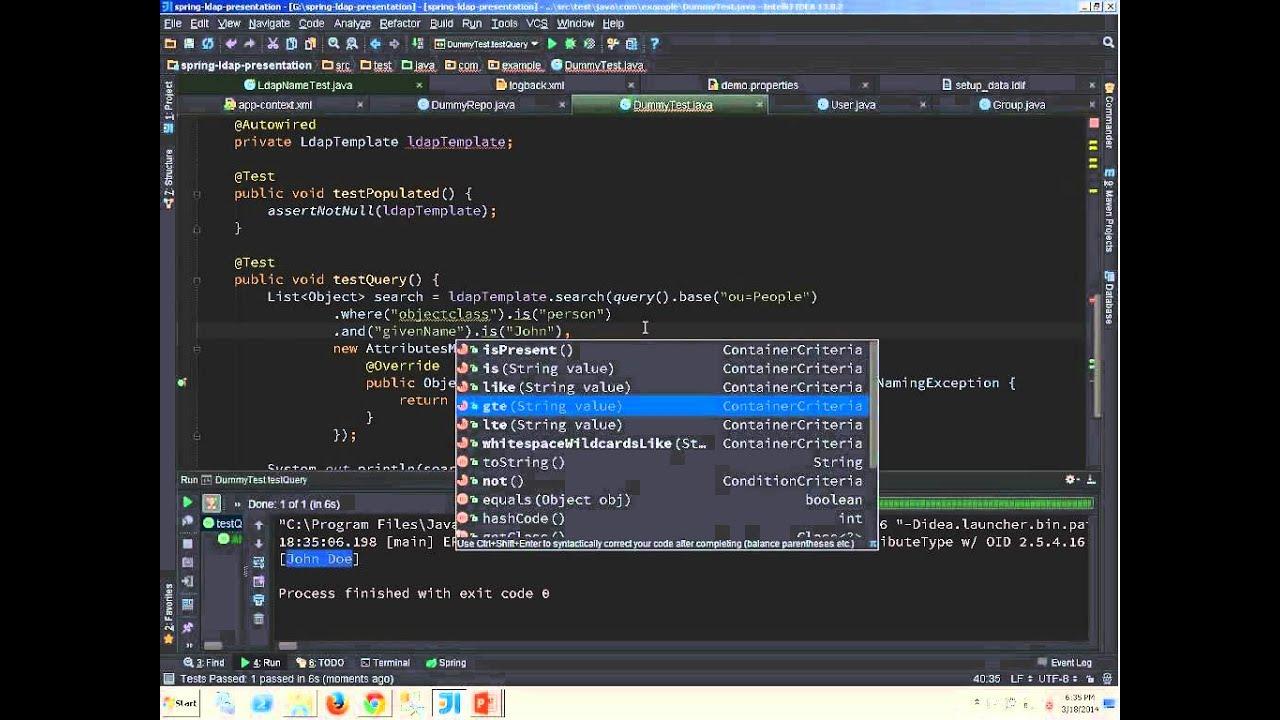 Spring LDAP の基本的な使い方 (Spring Boot) - Qoosky