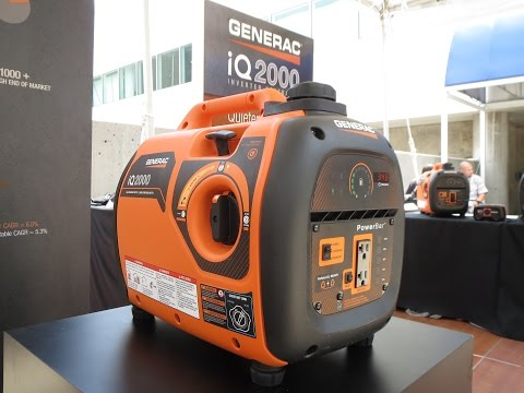 Generac iQ: The Quietest Generator EVER!!