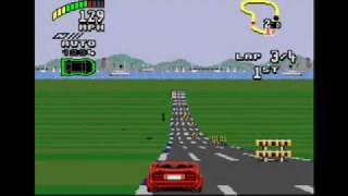 Top gear 2 music -2, Sega Genesis