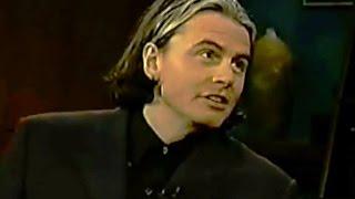 John Taylor on Craig Kilborn Show w. Kristen Johnston Duran Duran - 1999