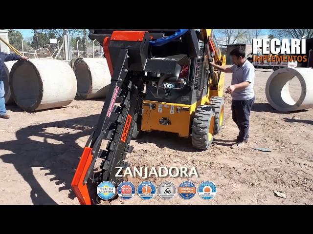 Zanjadora | Municipalidad 25 de Mayo -  La Pampa | Diciembre 2018