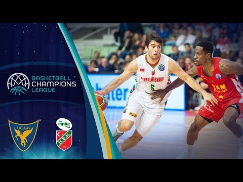 UCAM Murcia v Pinar Karsiyaka - Full Game - Basketball Champions League 2017-18
