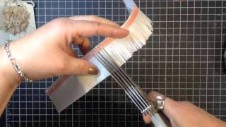 How to Make Paper Flowers Stampin