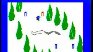 Skiing (1980) - Intellivision