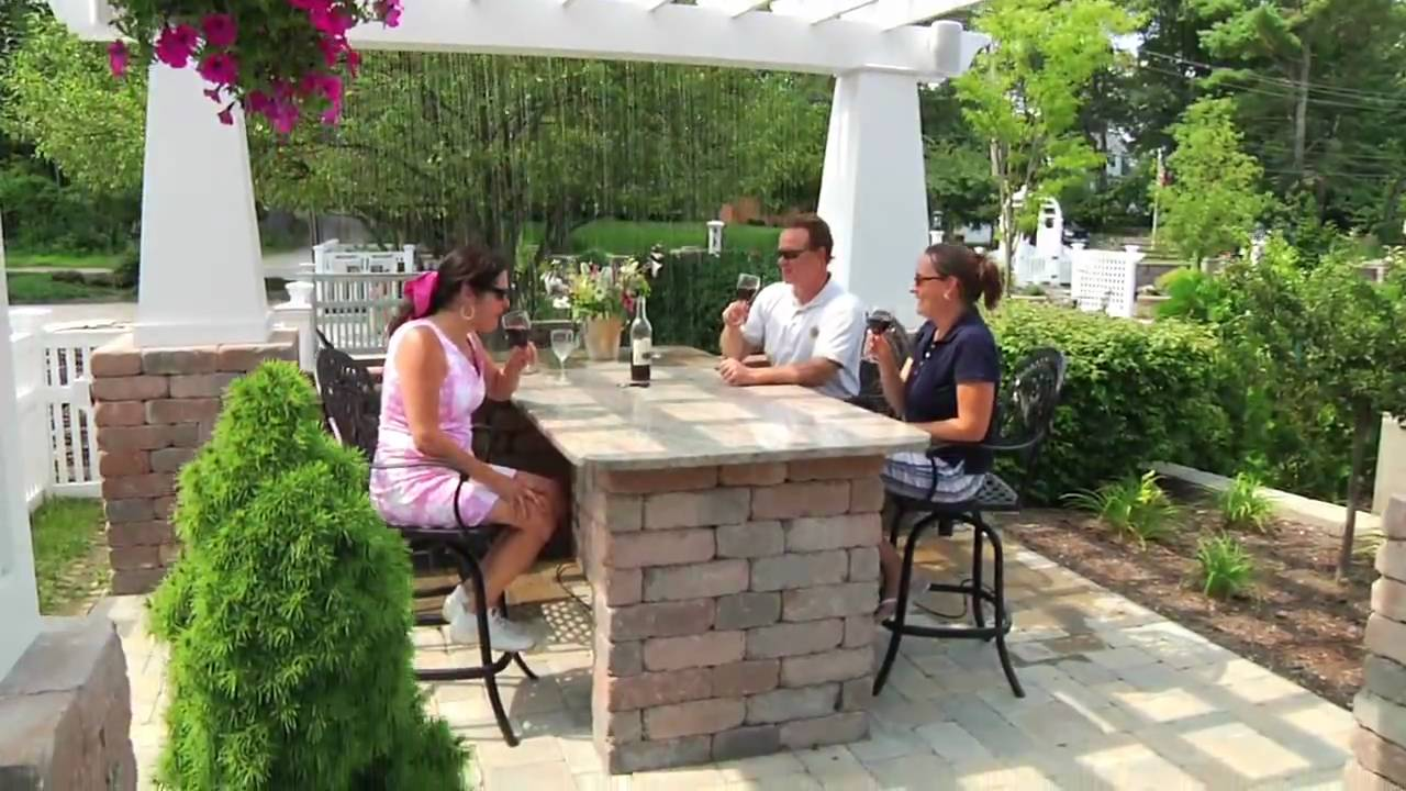 Backyard Living Idea Center Video - YouTube