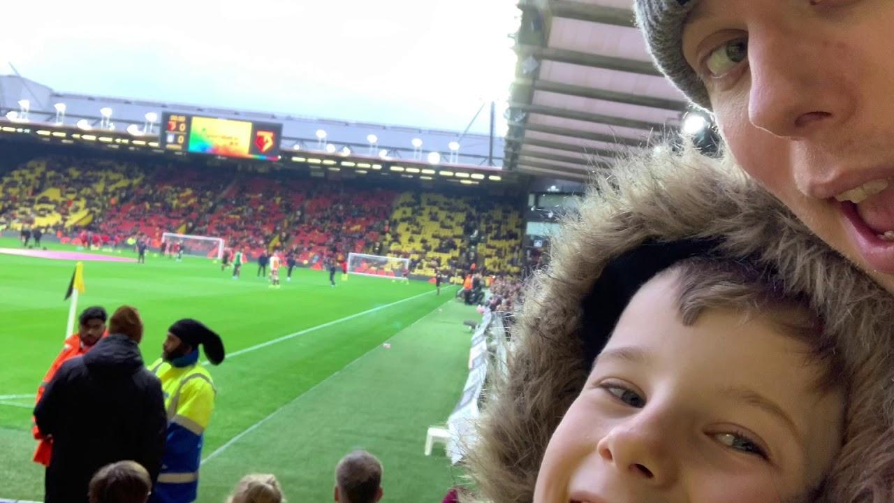Watford Vs Aston Villa Coreyo S Vlog Youtube